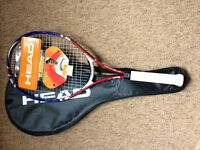 Tennis racket used once