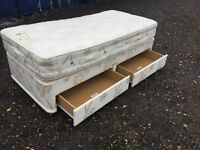 Single Bed & Mattress, Clean Condition, Free Delivery In Norwich,