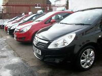 CORSA CRAZY @ K-CARS 10 VAUXHALL CORSA'S TO CHOOSE FROM LOW INSURANCE IDEAL FIRST CARS