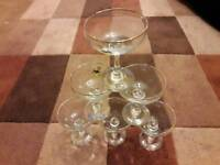 Babycham glasses