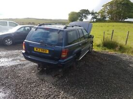 2004 JEEP GRAND CHEROKEE 2.7 CRD AUTOMATIC BREAKING