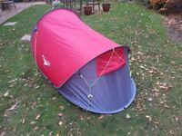Tent pitch and go ss Hi gear 2 person.