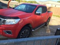 Nissan Navarra pickup truck full service history
