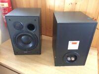 DynaudioBM 5 Speakers with Samson Servo 260 Amp