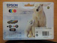2 Epson Printer Cartridges Polar Bear Multi Packs