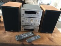 TEAC stereo separates . DAB radio and CD player.