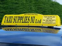 Crescent Style new regulation taxi roof signs/ DOE approved/ LED lighting/ NO VAT