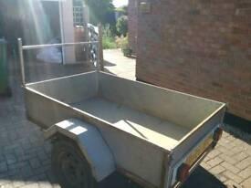 All steel car trailer