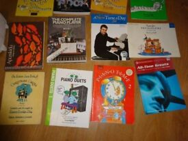 15 Piano / Music books shhet music REDUCED