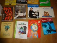 15 Piano / Music books shhet music REDUCED