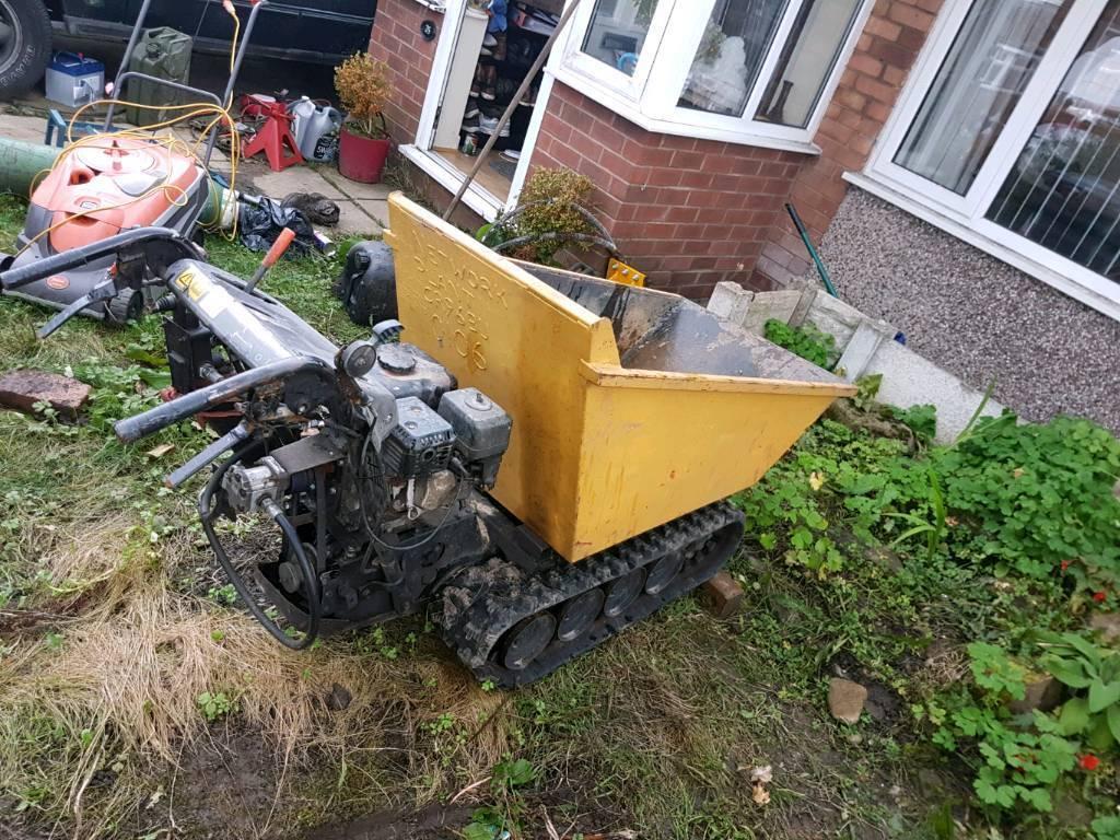muck truck power barrow tracked dumper