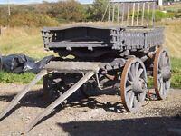Vintage Hay Cart