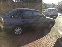 Ford escort 1.4 glx 1991 5 door hatch mot august one owner from new 53000 miles