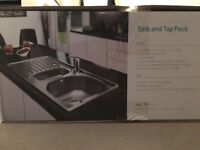 Sink and tap combo