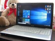 "Nearly New 15.6"" Toshiba Satellite Laptop, build in Webcam &Wifi Parramatta Parramatta Area Preview"