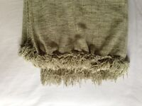 Green Chenille Throw - Excellent condition.