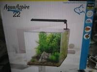 22l aqua aspire fish tank