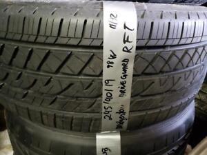1 summer tire Bridgestone driveguard 245/40r19 runflat