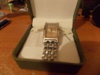 gents armani stainless steel wrist watch