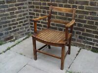 FREE DELIVERY Retro Wooden Armchair Vintage Furniture W