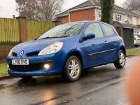 2008 Renault Clio 1.2 Expression 76K Miles