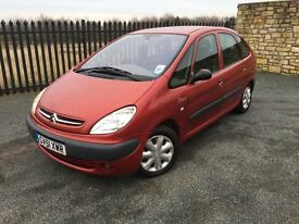 2002 51 CITROEN PICASSO 1.8 SX 5 DOOR M.P.V - *FEBRUARY 2018 M.O.T* - CHEAP!
