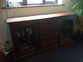 Solid wood sideboard - quick sale needed