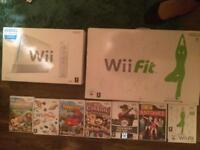 Wii ,Wii fit and 7 games