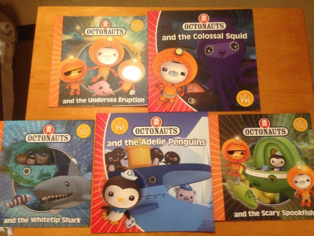 Octonauts Book Bundle x5