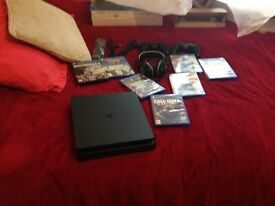 New condition PS4 slim