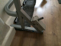 Gymano gym squat rack / bench / weights very sturdy and in good condition (BAR NOT INCLUDED)