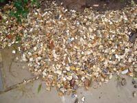A quantity of Dorset flint ( Gravel)