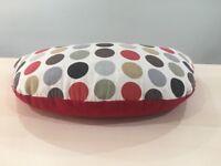 Breastfeeding Cushion by Thrupenny Bits. Design Ultimate Dotty