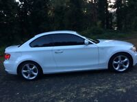 BMW 118D SPORT COUPE WHITE STUNNING CAR first to see will buy