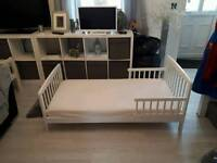 Kids toddler bed as new