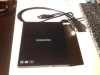 Samsung external DVD writer.