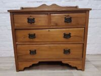 Victorian Stripped Pine Chest Of Drawers (DELIVERY AVAILABLE FOR THIS ITEM OF FURNITURE)