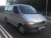 TOYOTA HIACE 2.5 D4D DIESEL MINIBUS 2005 YEAR 1 FORMER KEEPER DRIVES GREAT
