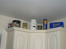 Assortment of collectable tins
