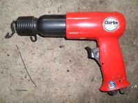 Hand Held Pneumatic Hammer and Chisel Set