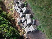 Outdoor landscaping materials