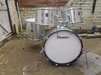 Premier Elite Silver Sun drum kit