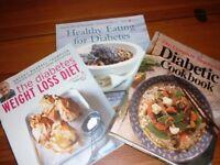 3 Diabetic Cookbooks