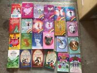 Massive 24 Girls Book Bundle for ages 7 and up