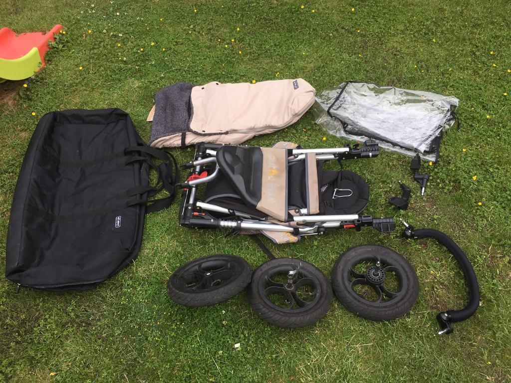 Out N About Nipper 360 Pushchair Bag And Maxi Cosi Pebble Car Seat Travel System