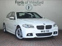BMW 5 SERIES 520D [190] M SPORT 4DR (white) 2016