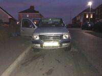 04 plate ford ranger thunder 4x4 10months mot