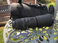 Sigma 170-500mmD 1:5-6.3APO DG Nikon fit