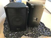 Alesis Speakers PA 180 - PERFECT CONDITION AND URGENT