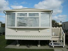 Carnaby Siesta 3 bedroom 8 birth 12x35ft 2005 Caravan with double glazing and central heating